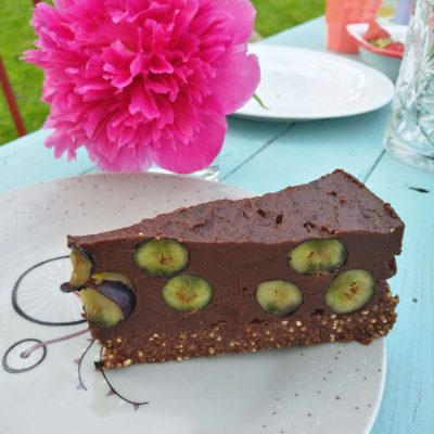 Blaubeer-Schoko-Torte rohköstlich
